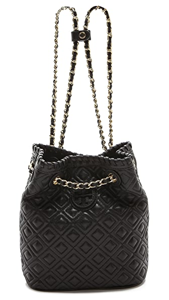 Tory Burch Marion Quilted Small Backpack