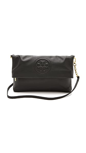 Tory Burch Bombe Fold Over Clutch