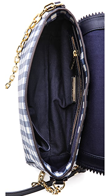 Tory Burch Kerrington Gingham Cross Body Bag
