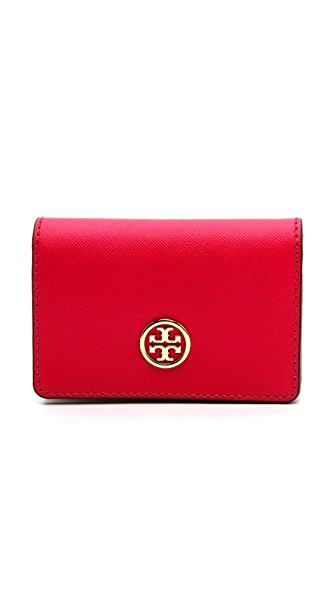Tory Burch Robinson Foldable Card Case