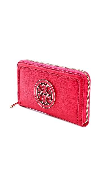 Tory Burch Amanda Zip Continental Wallet