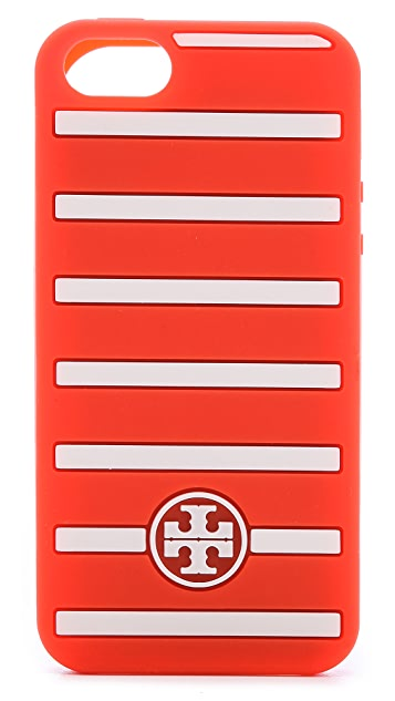 Tory Burch Fleet Stripe iPhone 5 / 5S Silicone Case