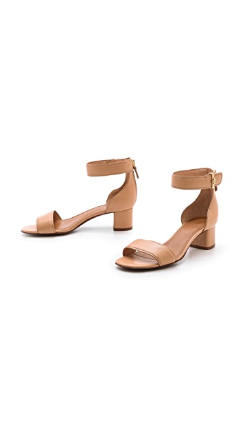 Tory Burch Tana Low Heel Sandals