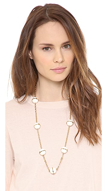 Tory Burch Melody Rosary Necklace