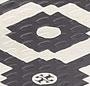 Black/Tory Tile Print