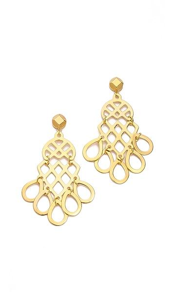 Tory Burch Cutout Earrings
