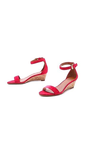 Tory Burch Savannah Wedge Sandals