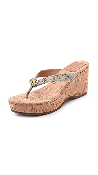 Tory Burch Suzy Cork Wedges