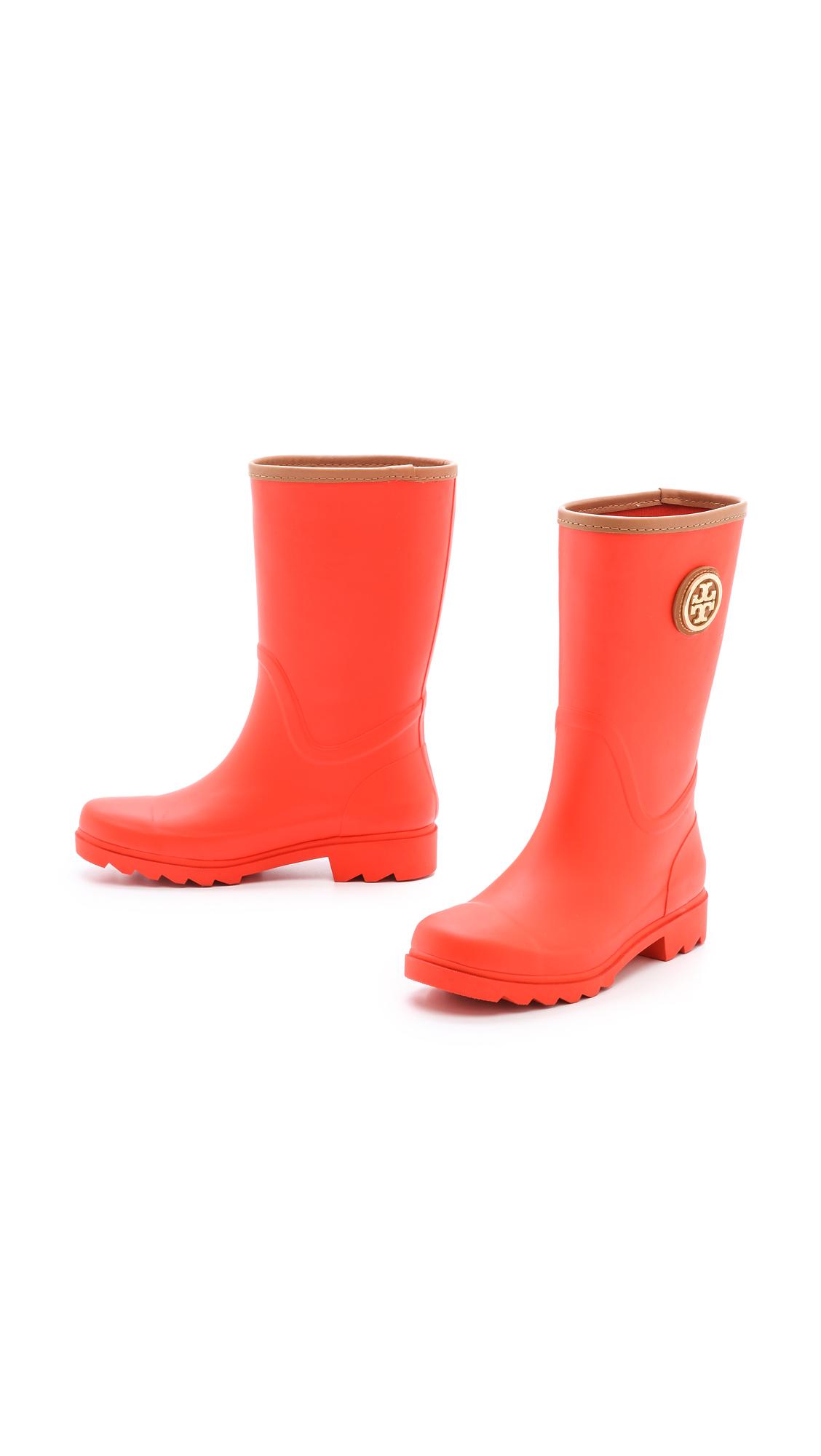 6fb9b12b3c9d Tory Burch Maureen Rain Boots