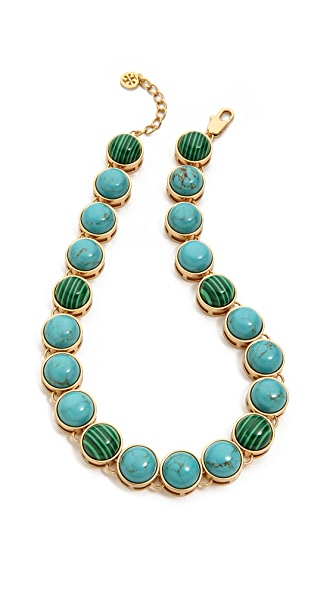Tory Burch Tacher Short Necklace
