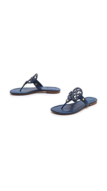 Tory Burch Miller Tejus Print Sandals