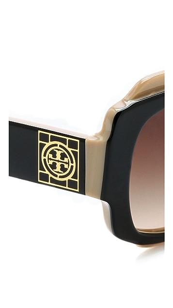 Tory Burch Classic Square Sunglasses