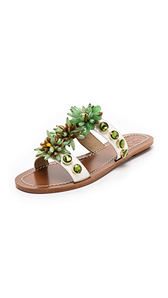 Tory Burch Sydney Embellished Sandals