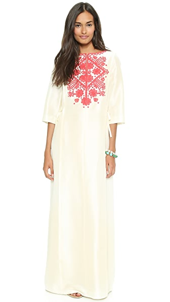 Tory Burch Roxanne Caftan Maxi Dress