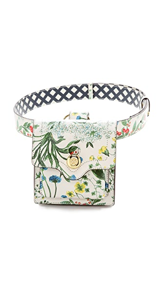Tory Burch Printed Leather Belt Bag