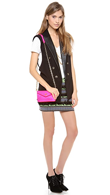 Tory Burch Neon Cross Body Bag