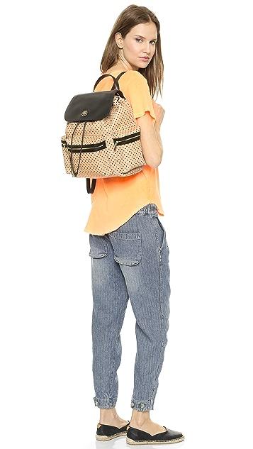 Tory Burch Kerrington Flap Backpack