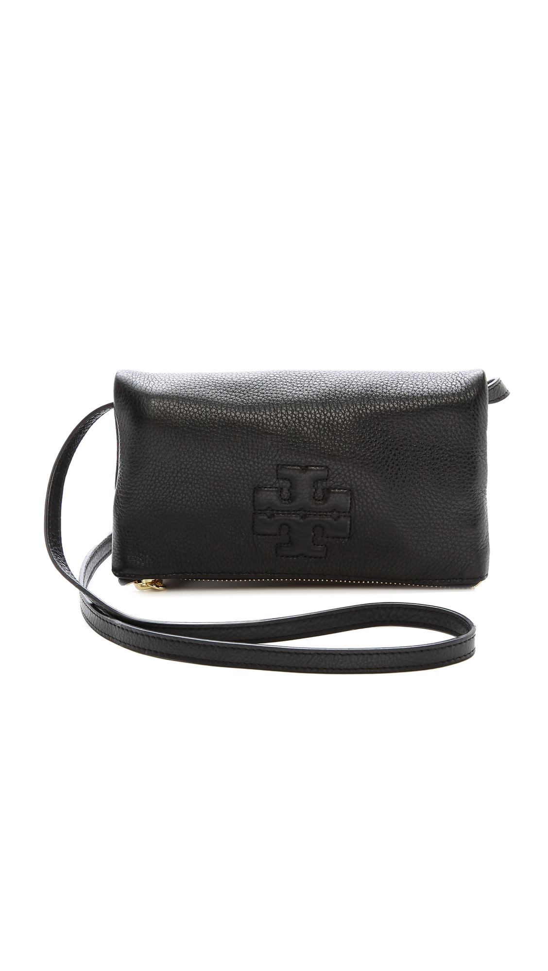 bd3c2883f3e2d Tory Burch Thea Mini Fold Over Cross Body Bag