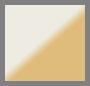 Ivory/Shiny Brass