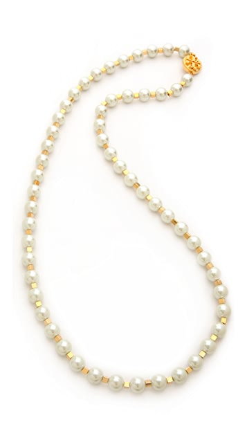 Tory Burch Tilde Long Necklace