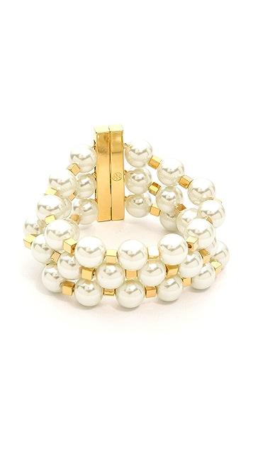 Tory Burch Tilde Multi Strand Bracelet
