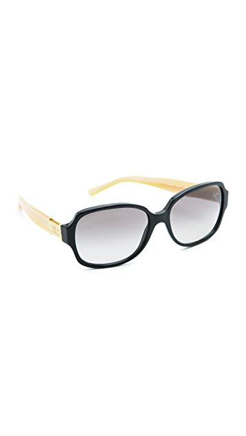 Tory Burch T Ring Square Sunglasses