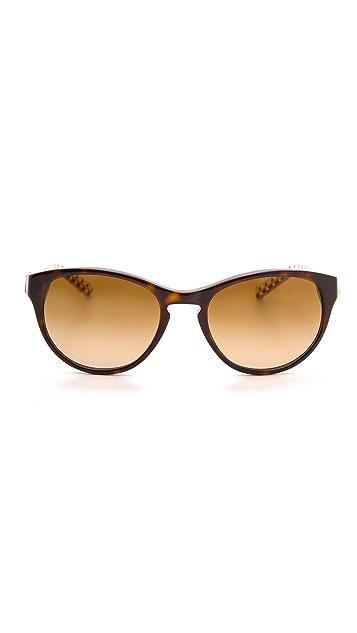 Tory Burch Round Sunglasses