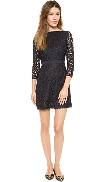 Tory Burch Renny V Back Lace Dress