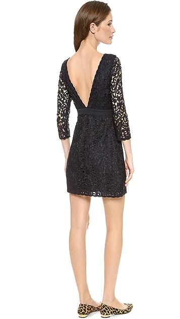 Tory Burch Renny V Back Lace Dress