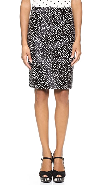 Tory Burch Hadley Haircalf Skirt