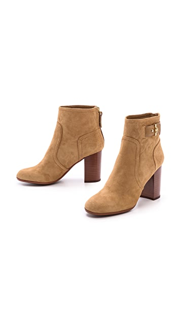 Tory Burch Kendall Suede Booties