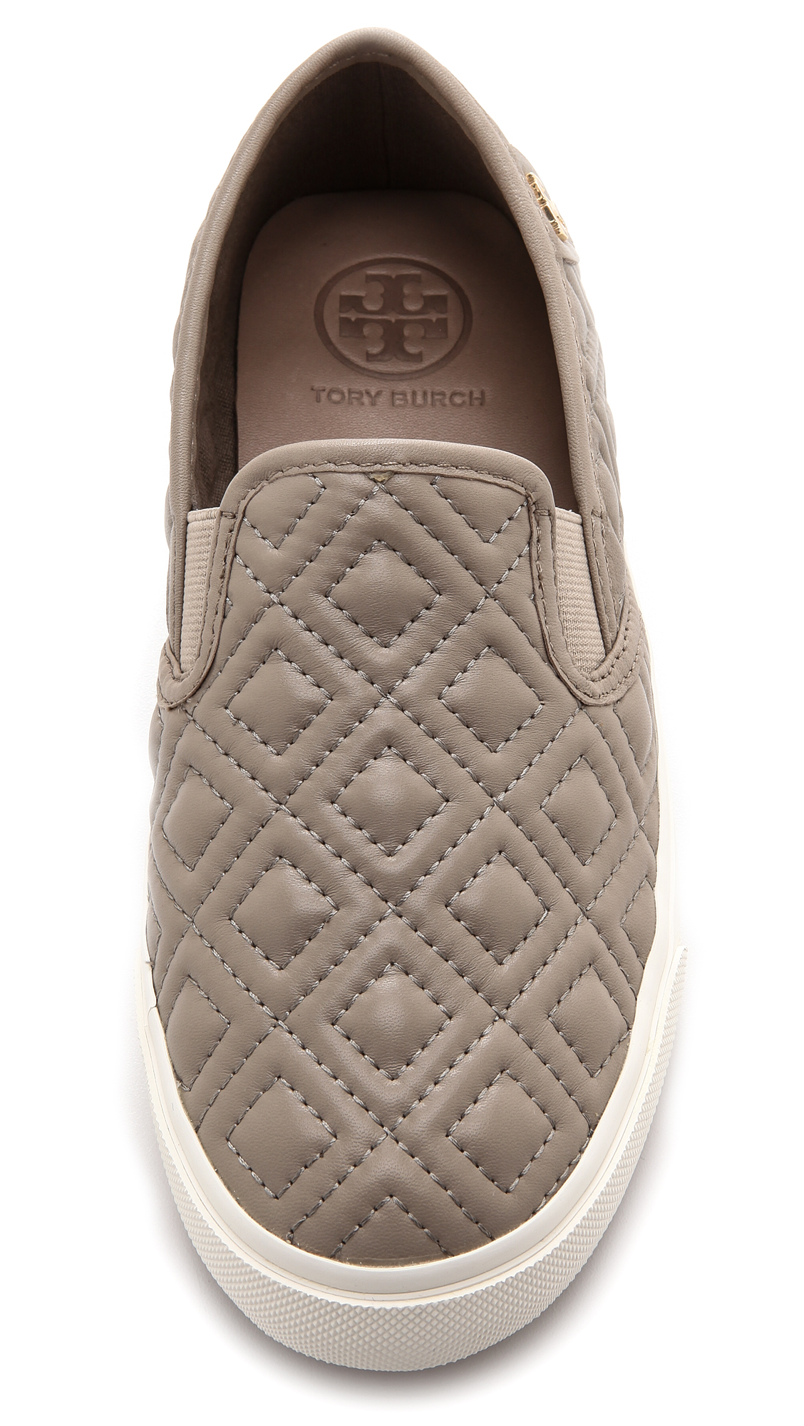 3a54e8990ce4 Tory Burch Jesse Quilted Slip On Sneakers