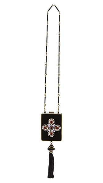 Tory Burch Embellished Minaudiere