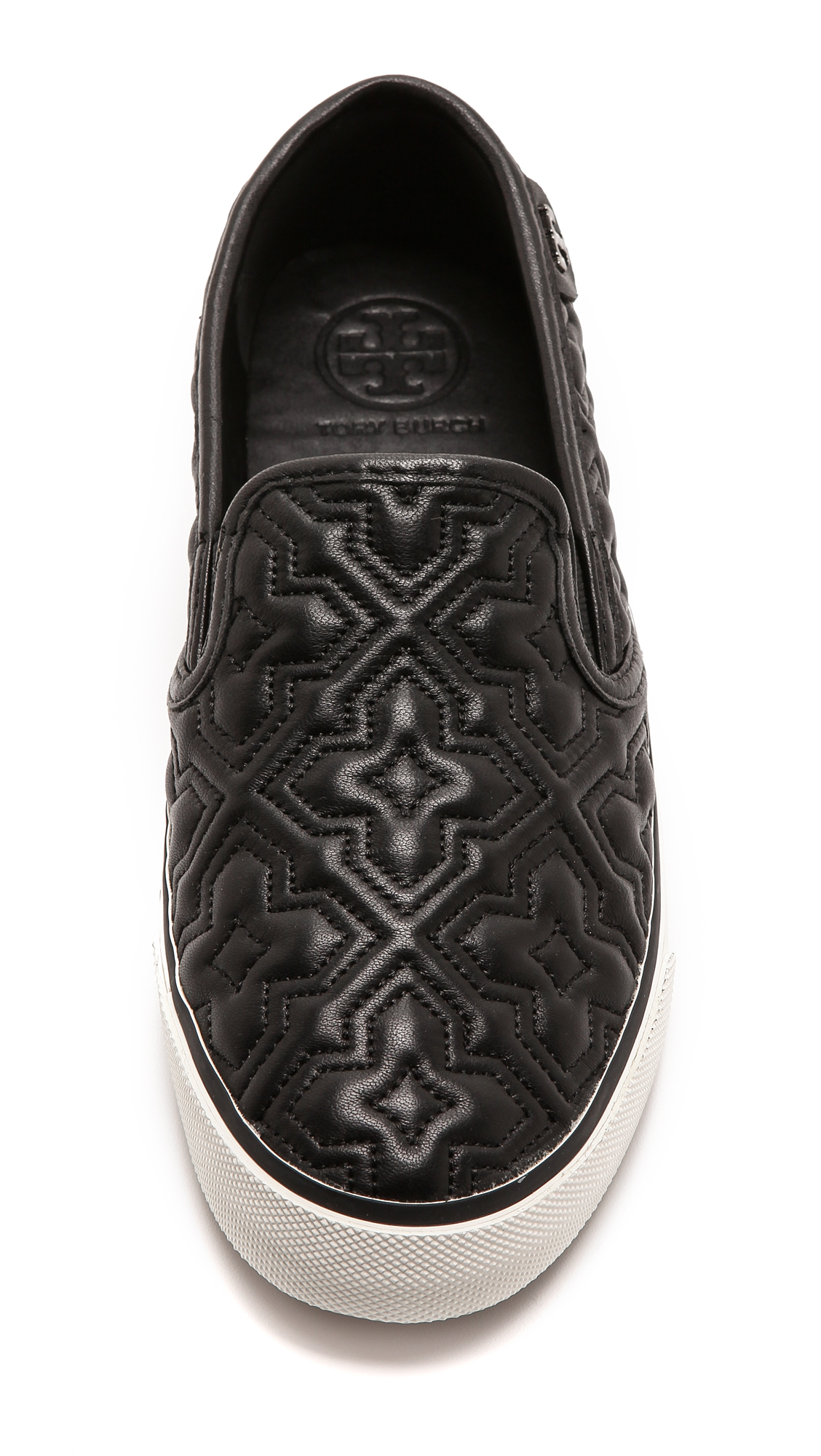 e40e57356ec9 Tory Burch Jesse 2 Quilted Sneakers