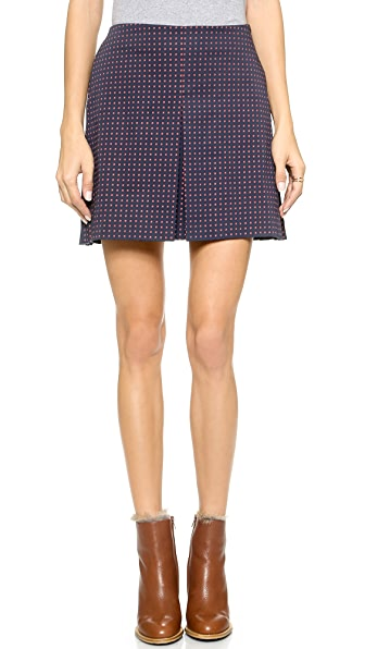 Tory Burch Klarissa Pleated Skirt