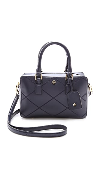 Tory Burch Robinson Stitched Square Satchel
