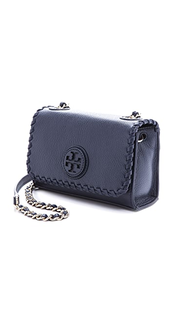 Tory Burch Marion Shrunken Shoulder Bag
