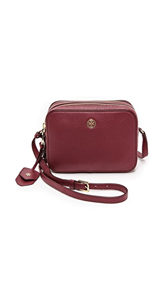Tory Burch Robinson Double Zip Cross Body Bag
