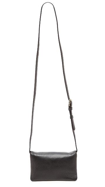 Tory Burch Robinson Mini Fold Over Cross Body Bag