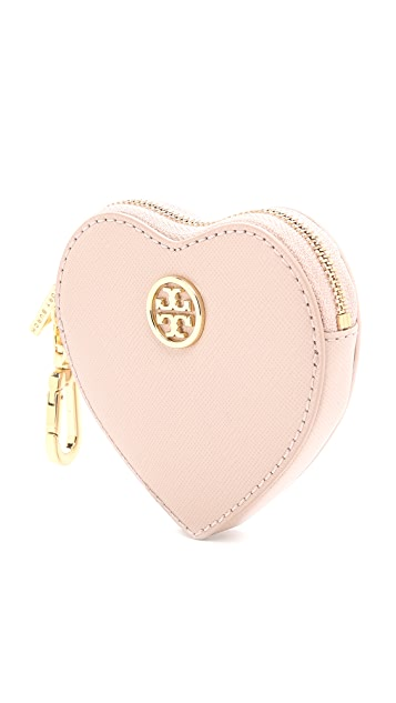 Tory Burch Heart Coin Case