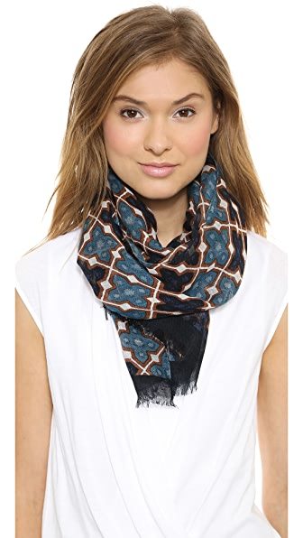 Tory Burch Shield Scarf