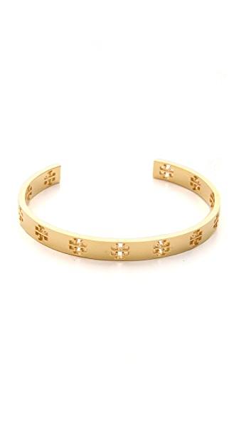 Tory Burch Pierced T Cuff Bracelet