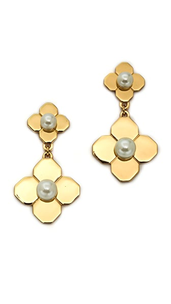 Tory Burch Babylon Drop Earrings