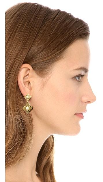 Tory Burch Babylon Drop Earrings