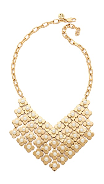 Tory Burch Babylon Bib Necklace