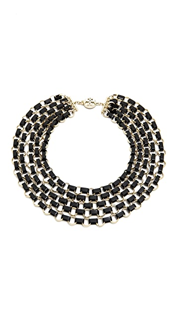 Tory Burch Aselma Multi Strand Necklace
