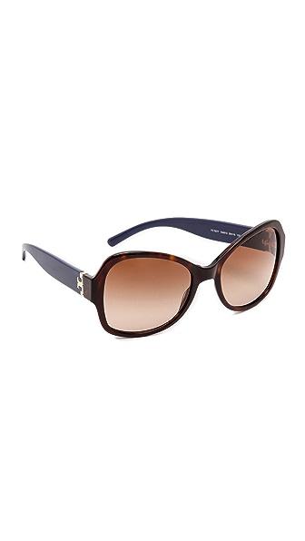 Tory Burch Modern Serif T Sunglasses
