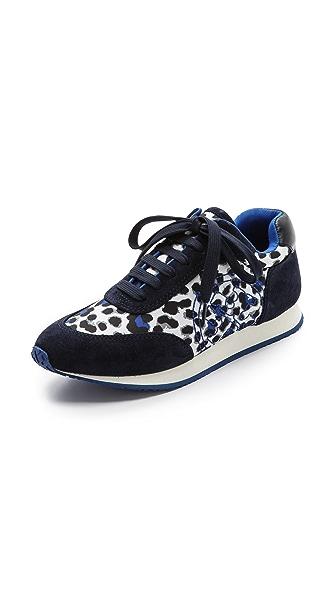 Tory Burch Delancy Leopard Sneakers