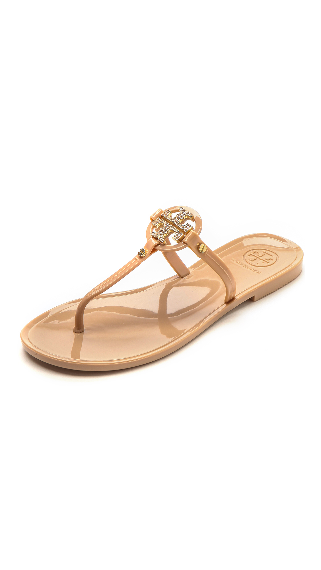 71242d84ce6 Tory Burch Mini Miller Flat Thong Sandals