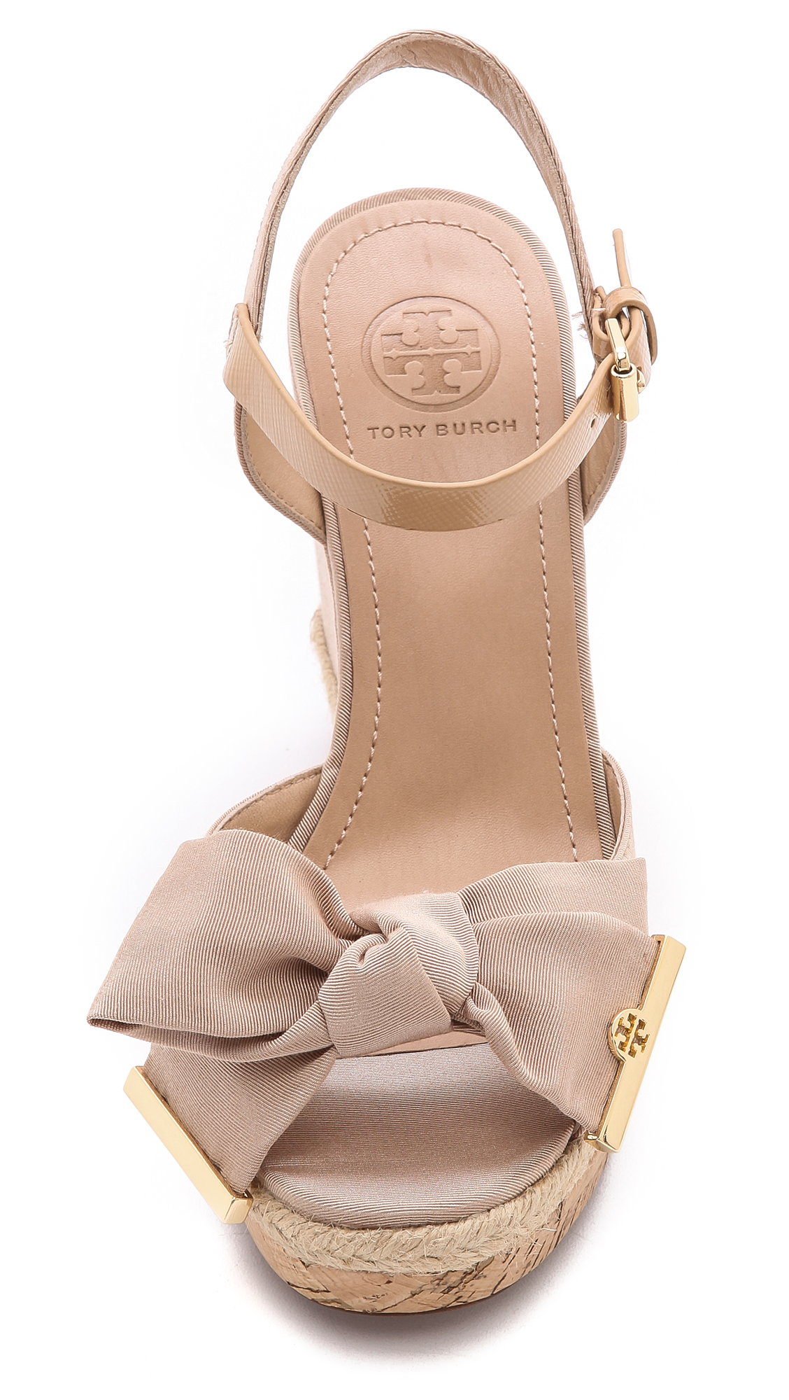 a0b3f39c598 Tory Burch Penny Wedge Sandals